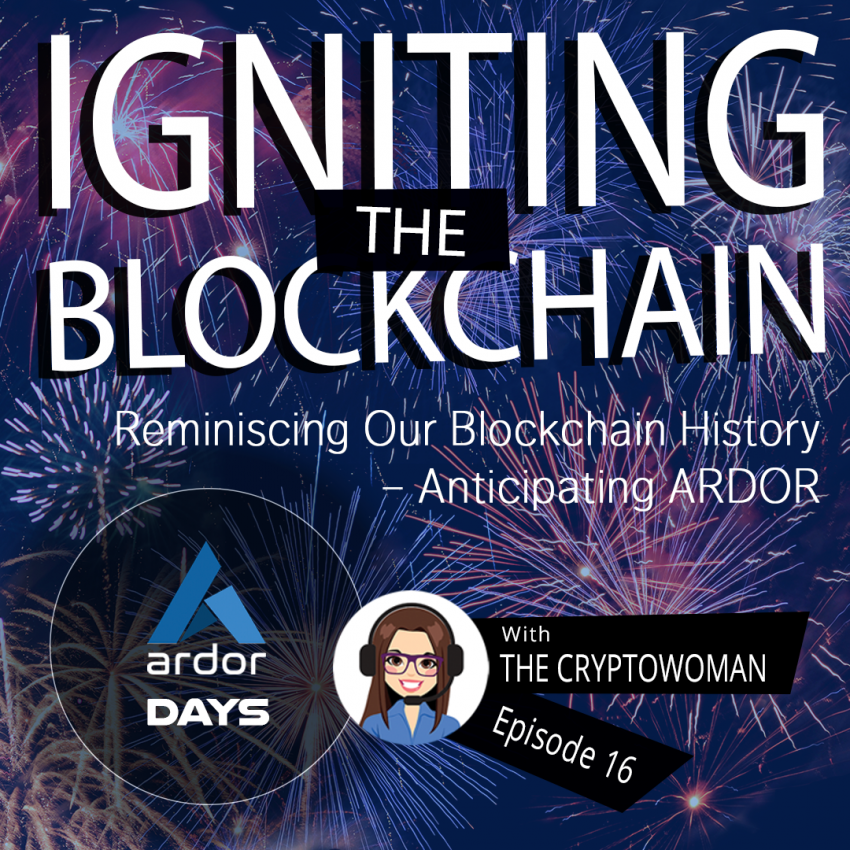 Core Developer Joins The Cryptowoman Right Before the Genesis Block of Ardor Blockchain